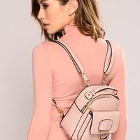 My Way Only Backpack - Blush