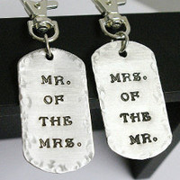 His And Hers Key Chains/ Luggage Tags | Luulla