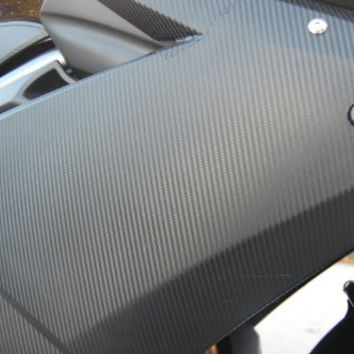 "Orion 3d Black Carbon Fiber Vinyl Wrap - Outdoor Rated for Automotive Use - 12"" x 60 """
