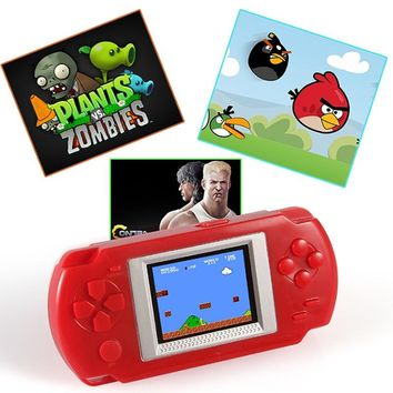 Ultra-Thin Portable 2.0'' Color screen Video Games Consoles 268-in-1 Classic Games Handheld Game player