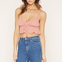 Drawstring Crop Top | Forever 21 - 2000168970