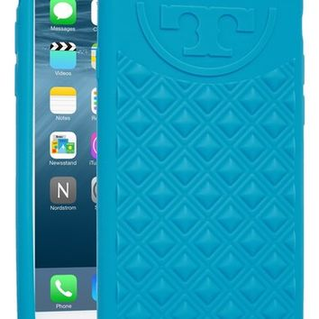 Tory Burch 'Marion' Quilted Silicone iPhone 6 & 6s Case | Nordstrom