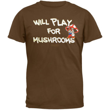 Nintendo - Play For Mushrooms T-Shirt