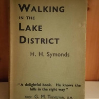 Walking in the Lake District vintage copy by HH Symonds 1938/collectors book/rare book