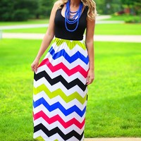 Fiesta Fun Chevron Maxi