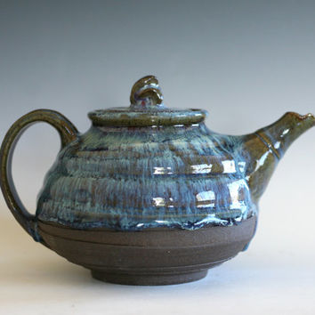 Ceramic Teapot, Handmade Stoneware Teapot, Ceramic Teapot, ceramics and pottery, pottery teapot, wheel thrown teapot by Kazem Arshi
