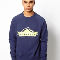 Penfield Sweatshirt with Mountain Logo