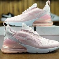 Nike Air Max 270 Pink Sport Running Shoes AH8050-600 - Best Online Sale