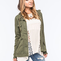FULL TILT Eyelet Back Womens Anorak Jacket | Jackets