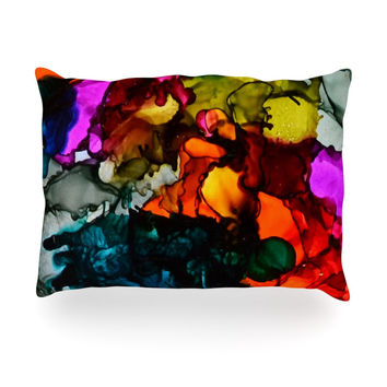 "Claire Day ""Hippie Love Child"" Oblong Pillow"