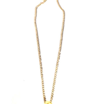 Psyche Scale Necklace in Gold