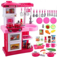 DCCKL72 toys for children Oversized children's toys play house kitchen toys girl kitchen cooking kitchen utensils brinquedo menina