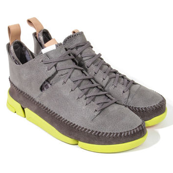 Clarks - Trigenic Flex (Grey/Green) - Grey /