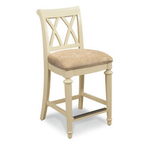 Hammary Camden-Light Desk Chair w/ 25H Seat in Buttermilk