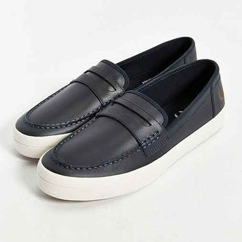 Fred Perry Whitmore Leather Loafer- Navy