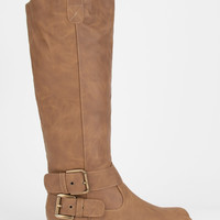 YOKI Tall Two Buckle Womens Riding Boots | Boots & Booties