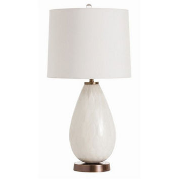 Arteriors Home Jane Mercury Frosted Glass/Vintage Brass Lamp - Arteriors Home 46984-980