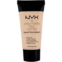 Nyx Cosmetics Stay Matte But Not Flat Liquid Foundation Soft Beige Ulta.com - Cosmetics, Fragrance, Salon and Beauty Gifts
