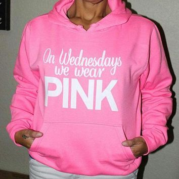 PEAPON Pink' Victoria's Secret  Hoodie  Shirt  Pullover Sweater Blouse Top