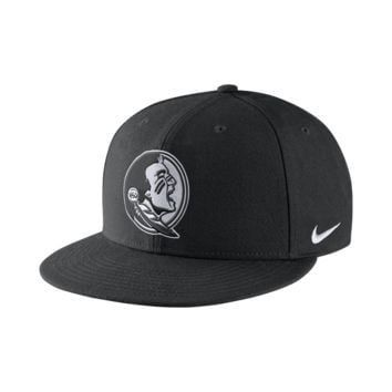 Nike Illustrate Logo True (Florida State) Adjustable Hat Size ADJ (Black)