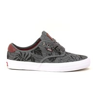 Vans Chima Ferguson Pro - (Leaves) Black/Charcoal Mens Shoes at Primitive Shoes & Apparel