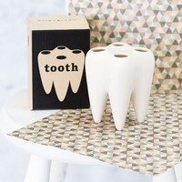 Say Cheese Toothbrush Holder