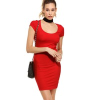 Promo- Red Tell Me More Dress