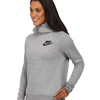 Nike Rally Pullover Hoodie Black/Black/Antique Silver/White - Zappos.com Free Shipping BOTH Ways