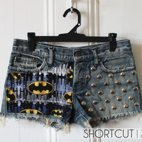 Lee BATMAN Comic / The Dark Knight Low Rise by Shortcut17 on Etsy