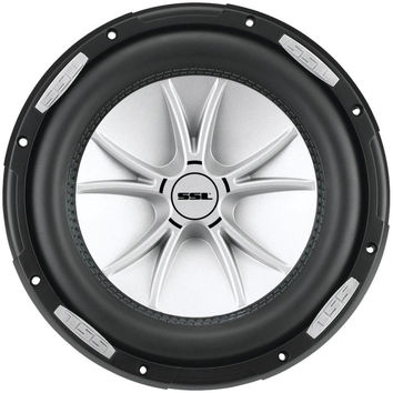 SOUNDSTORM SLR10DVC SLR Series Dual 4? Voice-Coil Subwoofer with Polypropylene Cone (10, 2,000 Watts)