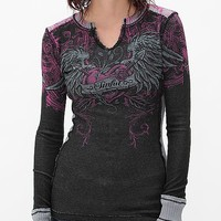 Sinful Hearts Vengeance Reversible Thermal Top