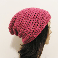 LazyDay Slouch Beanie  Berrylicious