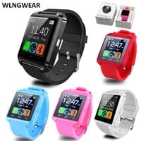 SmartWatch Bluetooth Smart Watch U8 WristWatch Wearable Devices for iOS iPhone & Android Phone For SAMSUNG XIAOMI