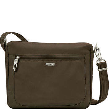 Travelon Anti-theft Classic Small E/W Crossbody Bag - eBags.com