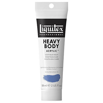 Liquitex Professional Heavy Body Acrylic Paint 2-oz tube, Light Blue Violet