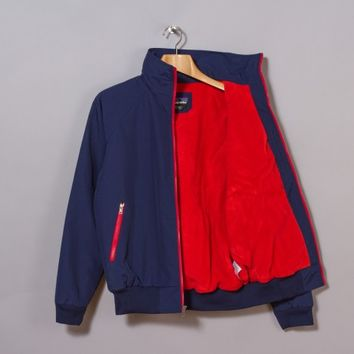 Patagonia Shelled Synchilla Jacket (Classic Navy / Cochineal Red) | Oi Polloi