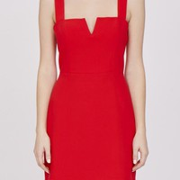 Amanda Uprichard Nia Red Dress