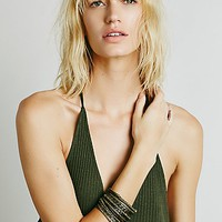 Free People Womens Mega Bangle Set