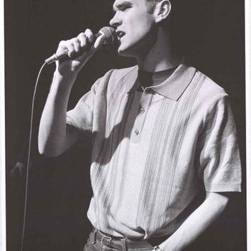 The Smiths Morrissey Hammersmith 1984 Poster 24x33