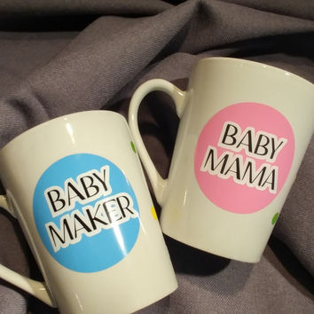 Coffee Mugs, Tumblers and Wine Glass Decals approx 2.5x2.5