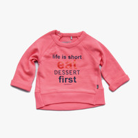 Imps and Elfs 'Life is Short' Pullover - Candy Pink - 1150030 - FINAL SALE