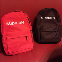 Supreme College Hot Deal Stylish Casual Comfort Back To School Bags Backpack [9470664135]