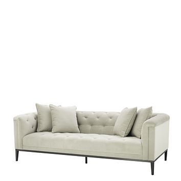 Pebble Gray Sofa | Eichholtz Cesare