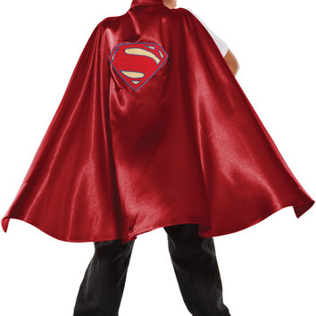 costume accessory: dawn of justice superman cape child