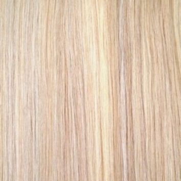 "Sandy Blonde Highlights - Deluxe 20"" Clip In Human Hair Extensions 165g from www.foxylocksextensions.com"