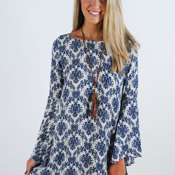 Ride the Wave Tunic Dress