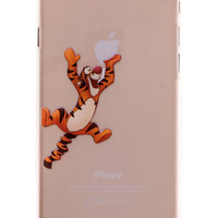 Tigger Transparent Back Cover Case for iPhone 6 Plus