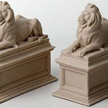 New York Public Library Lions Bookends - 4753