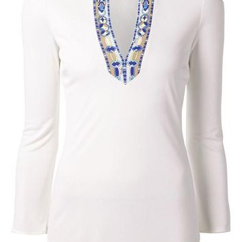 ONETOW Emilio Pucci chain fastening top