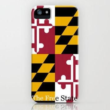 The Free State, Maryland iPhone Case by Jordan Virden | Society6